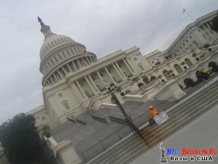 Капитолий, Вашингтон, осенью, в США, США, фото, фотография, снимок, картинка