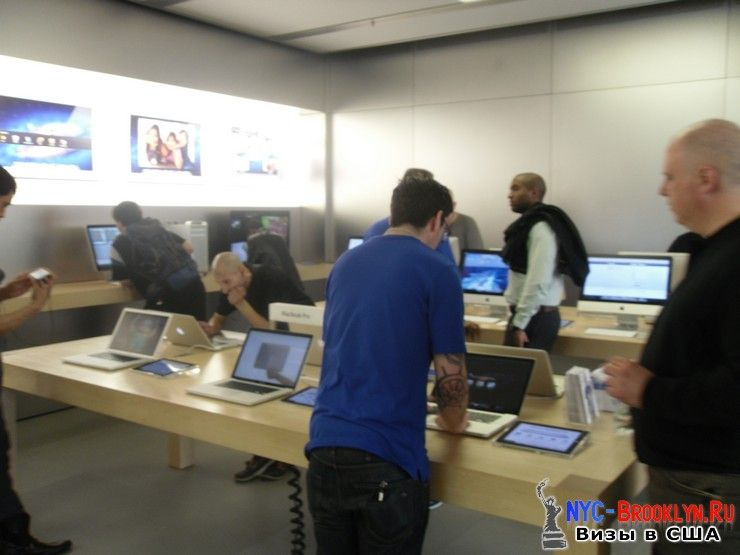 10. Магазин Apple Store в Нью-Йорке, на West 14th Street - NYC-Brooklyn