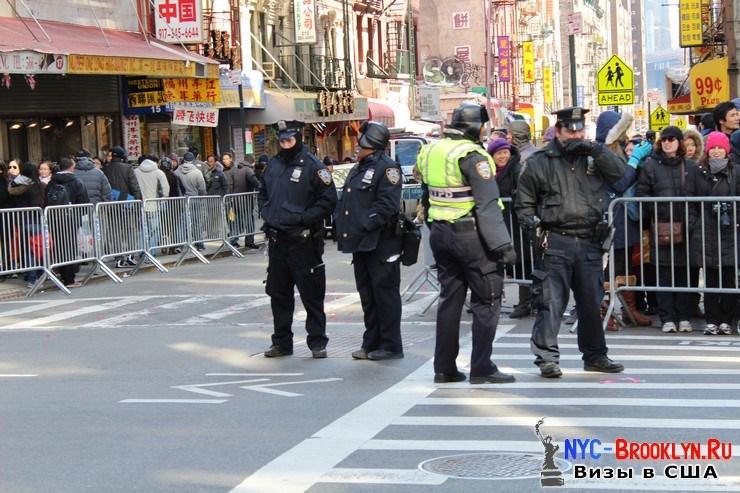 11. Парад в Нью-Йорке восточного Нового Года 2013 в Чайна Тауне - NYC-Brooklyn