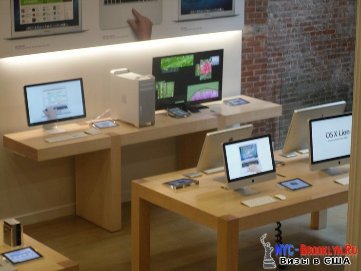 13. Магазин Apple Store в Нью-Йорке, в SoHo - NYC-Brooklyn