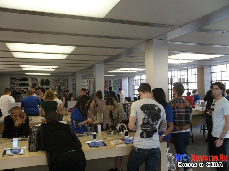 13. Магазин Apple Store в Нью-Йорке, на West 14th Street - NYC-Brooklyn