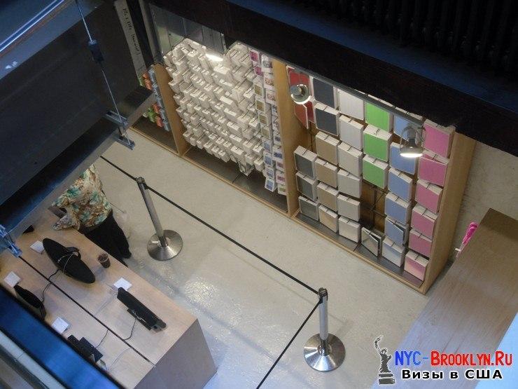 15. Магазин Apple Store в Нью-Йорке, в SoHo - NYC-Brooklyn