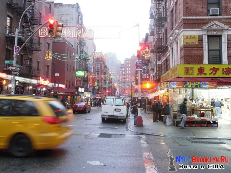15. Chinatown New York, Чайна таун в Нью-Йорке - NYC-Brooklyn