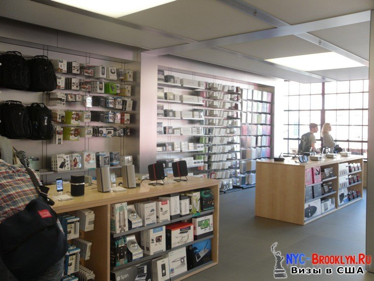 16. Магазин Apple Store в Нью-Йорке, на West 14th Street - NYC-Brooklyn