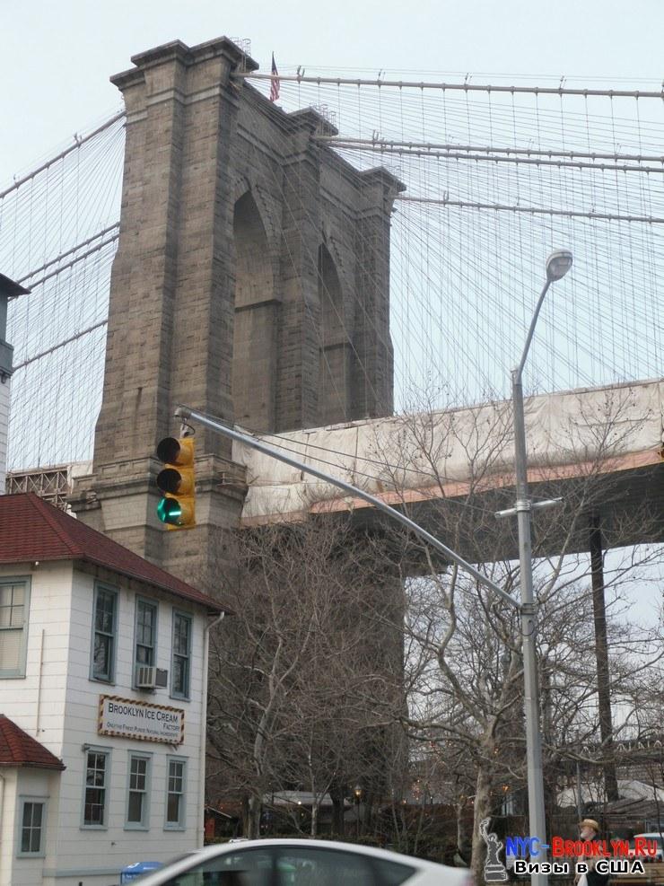19. Фотоотчет Бруклинский Мост в Нью-Йорке. Brooklyn Bridge New York - NYC-Brooklyn