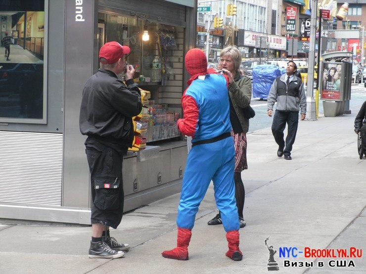 2. Человек-Паук в Нью-Йорке. Spider-Man New York - NYC-Brooklyn