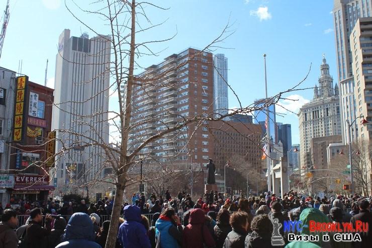20. Парад в Нью-Йорке восточного Нового Года 2013 в Чайна Тауне - NYC-Brooklyn