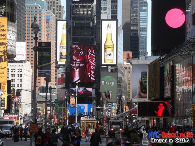 20. Фотоотчет Площадь Таймс Сквер в Нью-Йорке. Times Square New York - NYC-Brooklyn