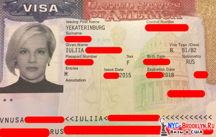 Туристическая виза, США, Юлии, Челябинск, NYC-Brooklyn