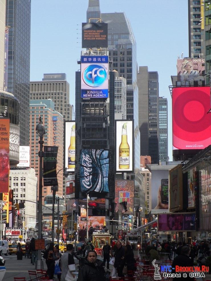 21. Фотоотчет Площадь Таймс Сквер в Нью-Йорке. Times Square New York - NYC-Brooklyn