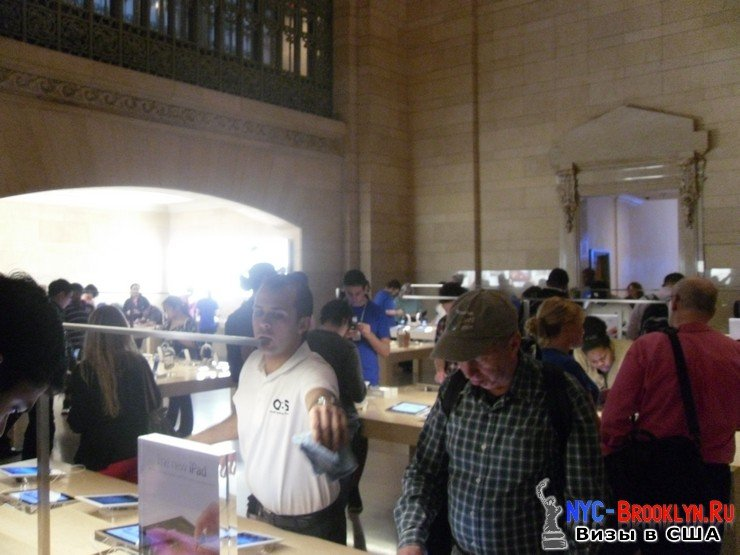 24. Магазин Apple Store в Нью-Йорке Grand Central - NYC-Brooklyn