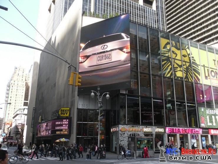 26. Фотоотчет Площадь Таймс Сквер в Нью-Йорке. Times Square New York - NYC-Brooklyn