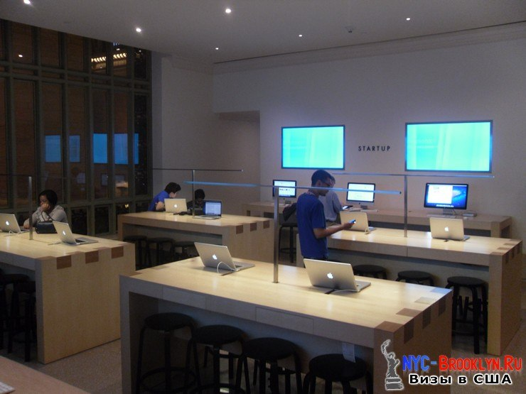 27. Магазин Apple Store в Нью-Йорке Grand Central - NYC-Brooklyn
