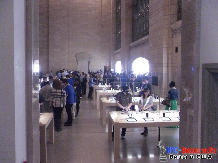 28. Магазин Apple Store в Нью-Йорке Grand Central - NYC-Brooklyn