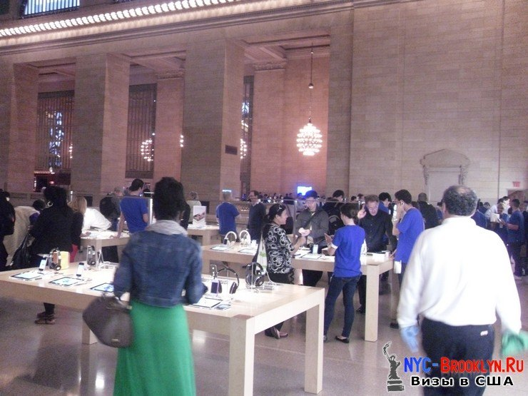 29. Магазин Apple Store в Нью-Йорке Grand Central - NYC-Brooklyn