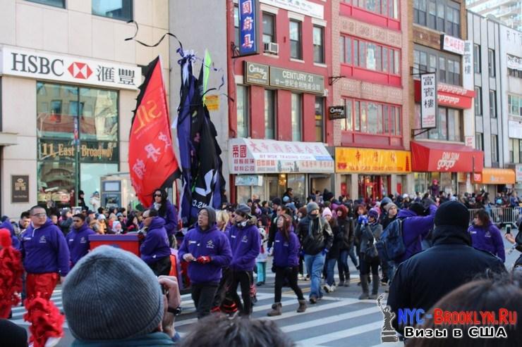 29. Парад в Нью-Йорке восточного Нового Года 2013 в Чайна Тауне - NYC-Brooklyn