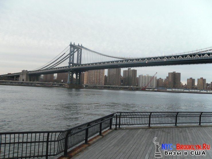 29. Фотоотчет Бруклинский Мост в Нью-Йорке. Brooklyn Bridge New York - NYC-Brooklyn