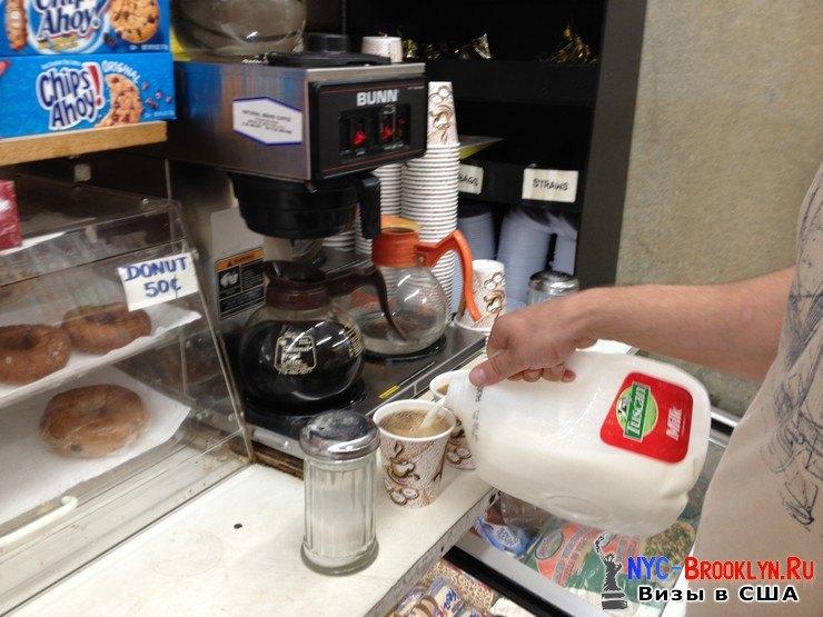 3. Кофе из Гросери в США. Grocery Store New York. Удобно и быстро - NYC-Brooklyn