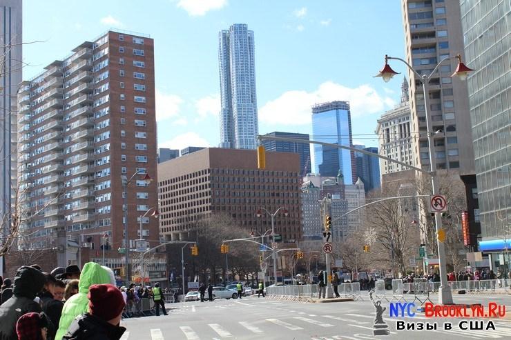3. Парад в Нью-Йорке восточного Нового Года 2013 в Чайна Тауне - NYC-Brooklyn
