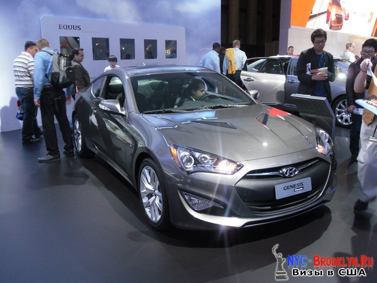 30. Автошоу в Нью-Йорке 2012. New York Auto Show - NYC-Brooklyn