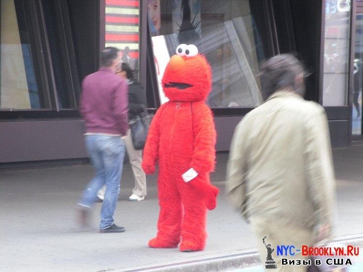 30. Фотоотчет Площадь Таймс Сквер в Нью-Йорке. Times Square New York - NYC-Brooklyn