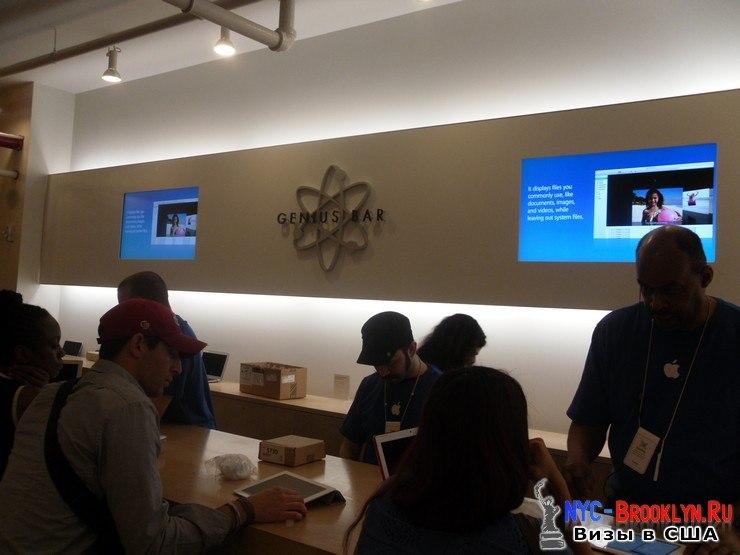 31. Магазин Apple Store в Нью-Йорке, в SoHo - NYC-Brooklyn