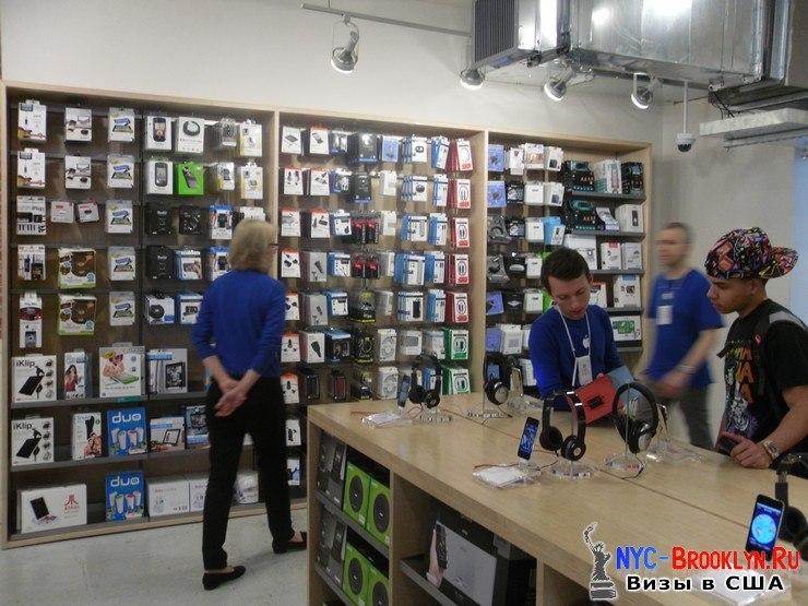32. Магазин Apple Store в Нью-Йорке, в SoHo - NYC-Brooklyn