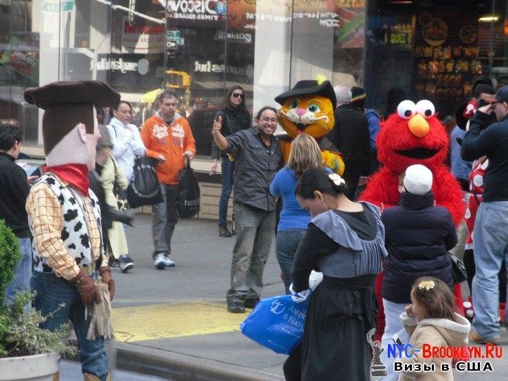 32. Фотоотчет Площадь Таймс Сквер в Нью-Йорке. Times Square New York - NYC-Brooklyn