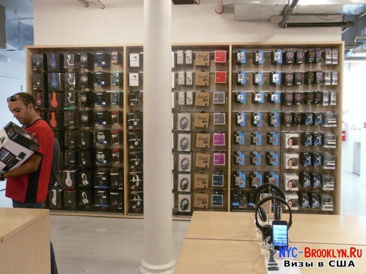 33. Магазин Apple Store в Нью-Йорке, в SoHo - NYC-Brooklyn