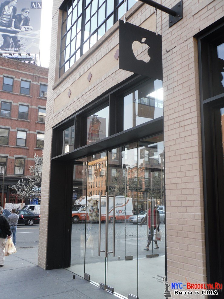 33. Магазин Apple Store в Нью-Йорке, на West 14th Street - NYC-Brooklyn
