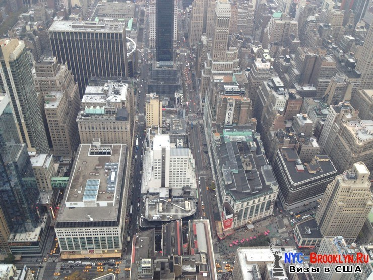 33. Фотоотчет Эмпайр Стейт Билдинг, Нью-Йорк, Empire State Building, New York - NYC-Brooklyn