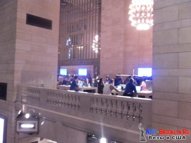 34. Магазин Apple Store в Нью-Йорке Grand Central - NYC-Brooklyn