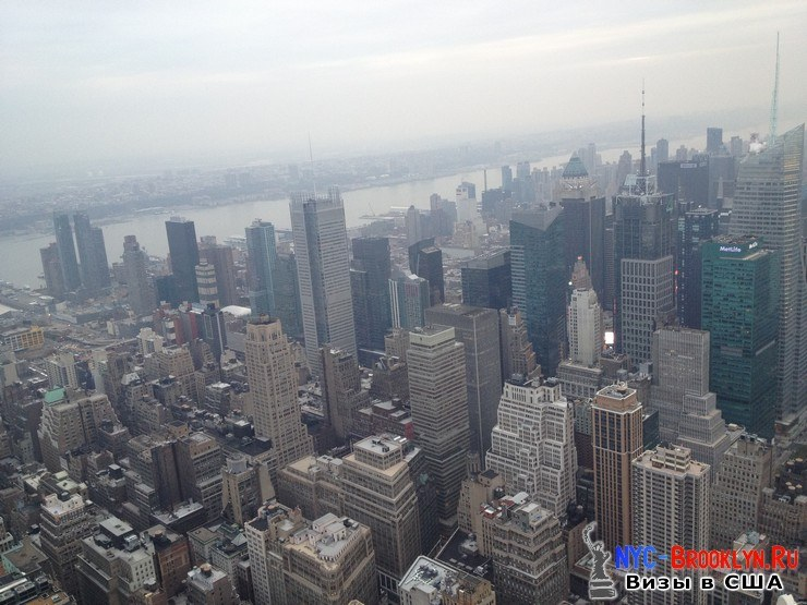 34. Фотоотчет Эмпайр Стейт Билдинг, Нью-Йорк, Empire State Building, New York - NYC-Brooklyn