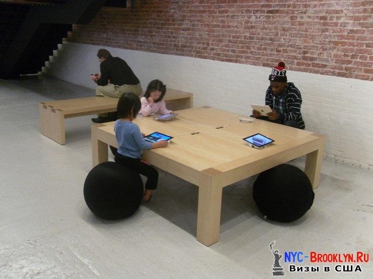 36. Магазин Apple Store в Нью-Йорке, в SoHo - NYC-Brooklyn