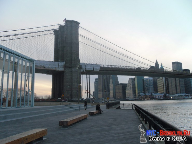 37. Фотоотчет Бруклинский Мост в Нью-Йорке. Brooklyn Bridge New York - NYC-Brooklyn