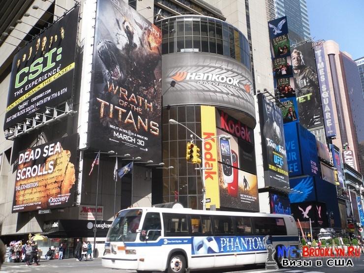 37. Фотоотчет Площадь Таймс Сквер в Нью-Йорке. Times Square New York - NYC-Brooklyn