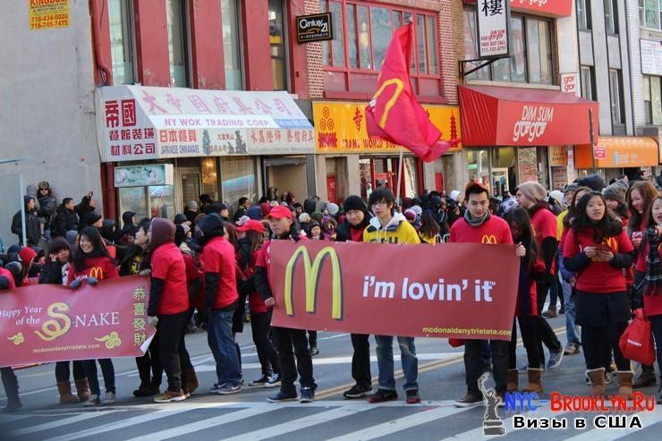 38. Парад в Нью-Йорке восточного Нового Года 2013 в Чайна Тауне - NYC-Brooklyn