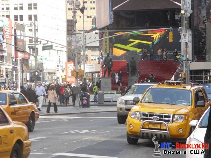 40. Фотоотчет Площадь Таймс Сквер в Нью-Йорке. Times Square New York - NYC-Brooklyn
