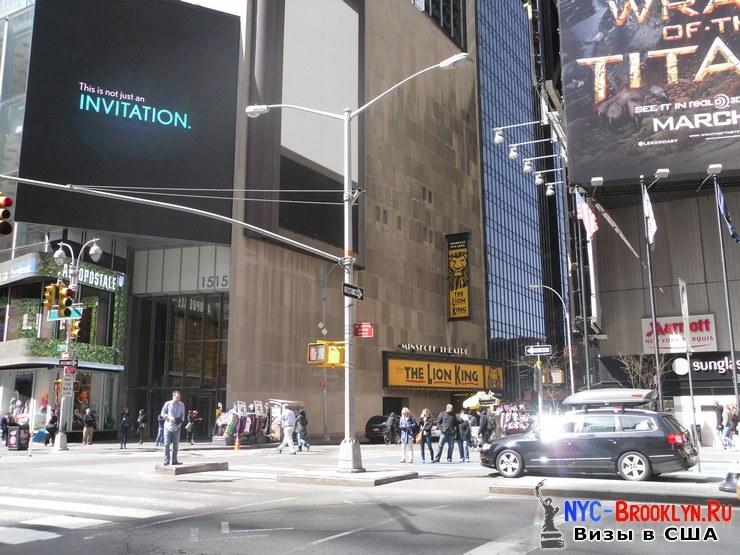 41. Фотоотчет Площадь Таймс Сквер в Нью-Йорке. Times Square New York - NYC-Brooklyn