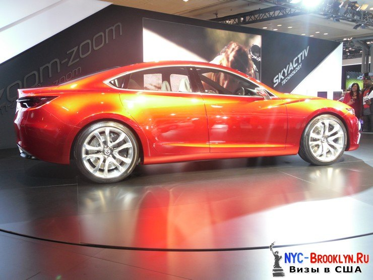 43. Автошоу в Нью-Йорке 2012. New York Auto Show - NYC-Brooklyn