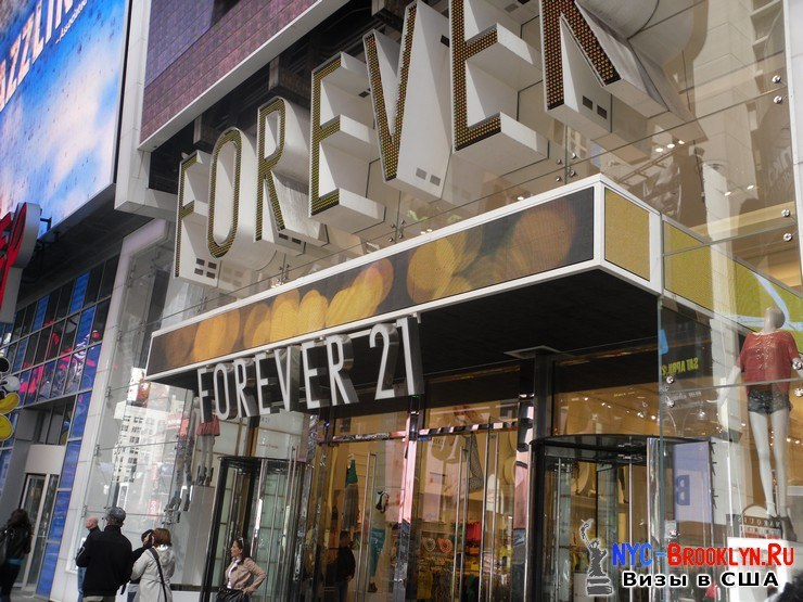 43. Фотоотчет Площадь Таймс Сквер в Нью-Йорке. Times Square New York - NYC-Brooklyn