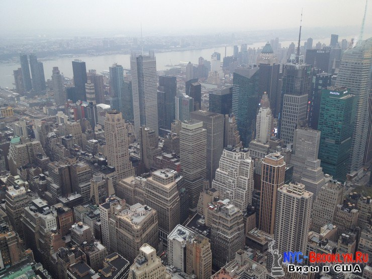 43. Фотоотчет Эмпайр Стейт Билдинг, Нью-Йорк, Empire State Building, New York - NYC-Brooklyn