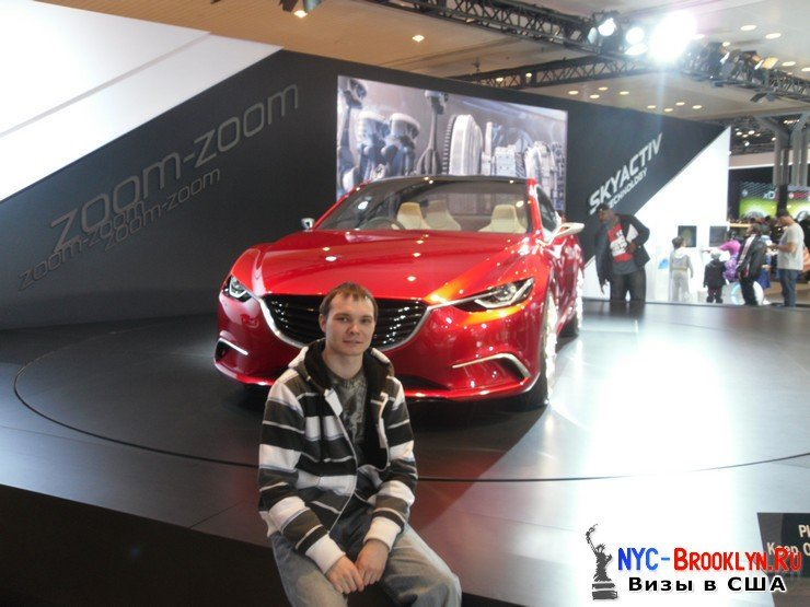 45. Автошоу в Нью-Йорке 2012. New York Auto Show - NYC-Brooklyn