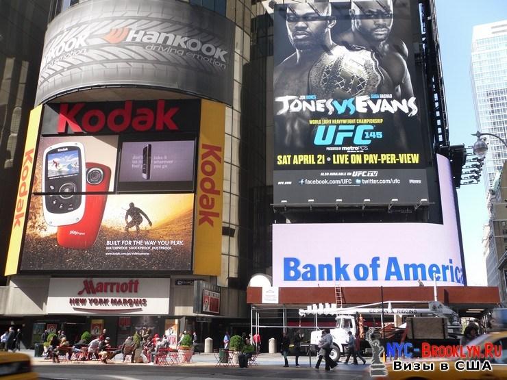 48. Фотоотчет Площадь Таймс Сквер в Нью-Йорке. Times Square New York - NYC-Brooklyn