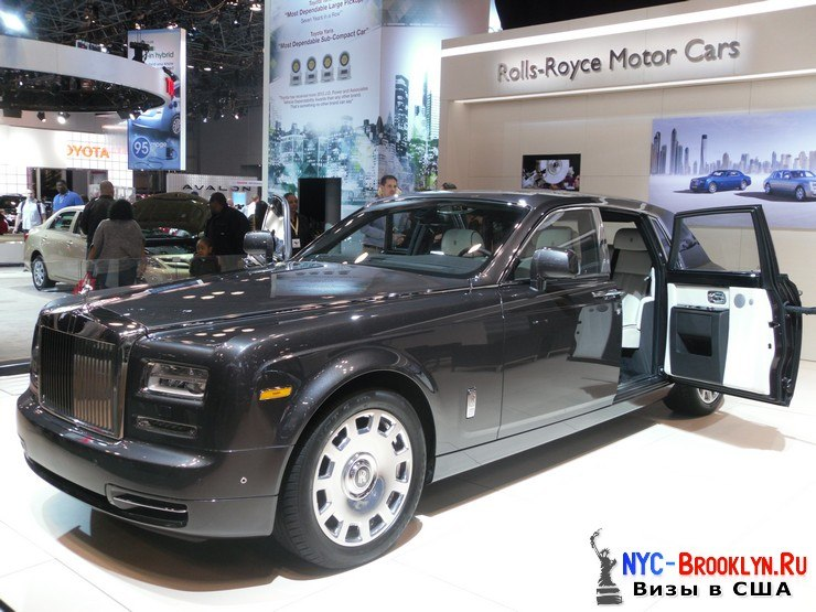 49. Автошоу в Нью-Йорке 2012. New York Auto Show - NYC-Brooklyn