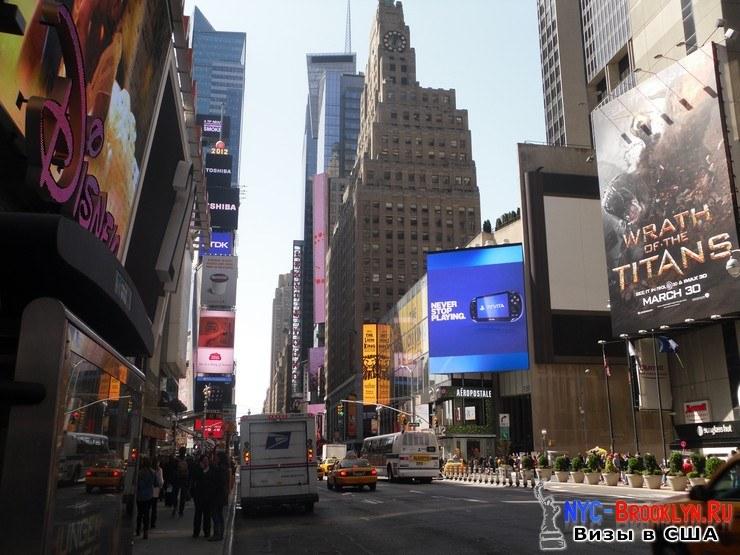 49. Фотоотчет Площадь Таймс Сквер в Нью-Йорке. Times Square New York - NYC-Brooklyn