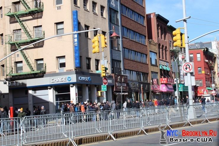 5. Парад в Нью-Йорке восточного Нового Года 2013 в Чайна Тауне - NYC-Brooklyn