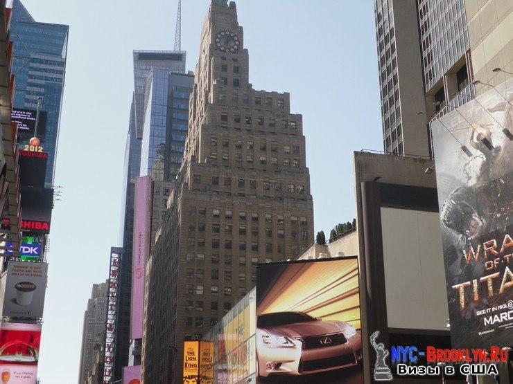 50. Фотоотчет Площадь Таймс Сквер в Нью-Йорке. Times Square New York - NYC-Brooklyn