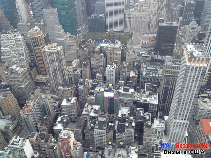 51. Фотоотчет Эмпайр Стейт Билдинг, Нью-Йорк, Empire State Building, New York - NYC-Brooklyn