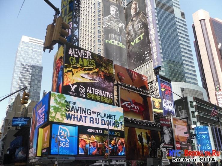 53. Фотоотчет Площадь Таймс Сквер в Нью-Йорке. Times Square New York - NYC-Brooklyn